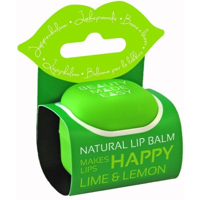 Beauty Made Easy Lipbalm lime & lemon