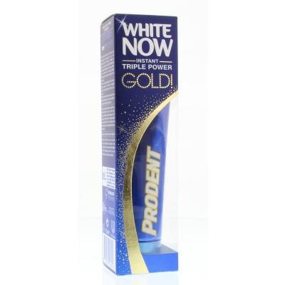 Prodent Tandpasta white now gold