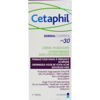Cetaphil Dermacontrol hydraterende gezichtsverzorging SPF30