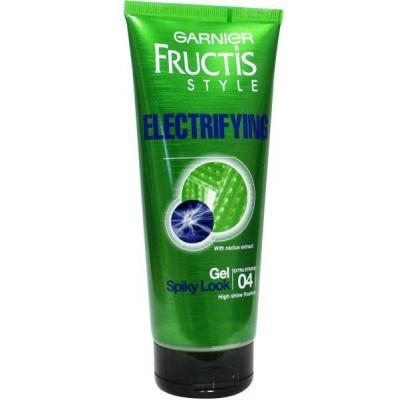 Garnier Fructis style gel electrifying gel ultra strong