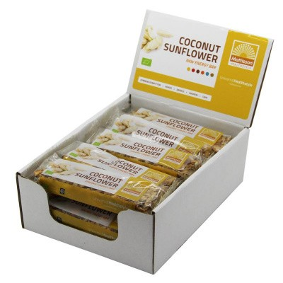 Mattisson Organic energy bar coconut sunflower 30 gram