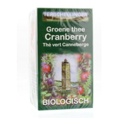 Terschellinger Groene thee cranberry