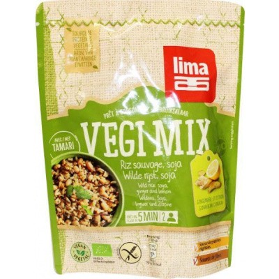 Lima Vegi mix wilde rijst soja gember citroen
