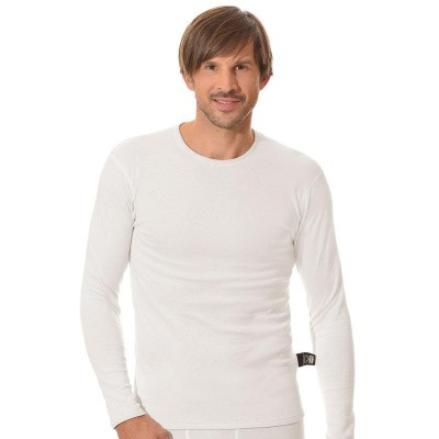 Best4body Verbandshirt wit M/V lange mouw XXXL