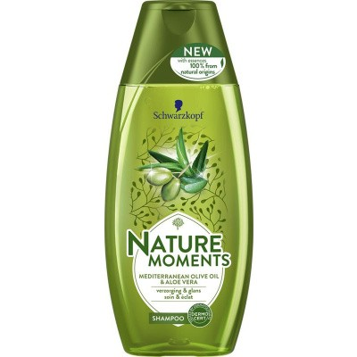 Schwarzkopf Nature Moments shampoo Mediterran olive&aloe vera