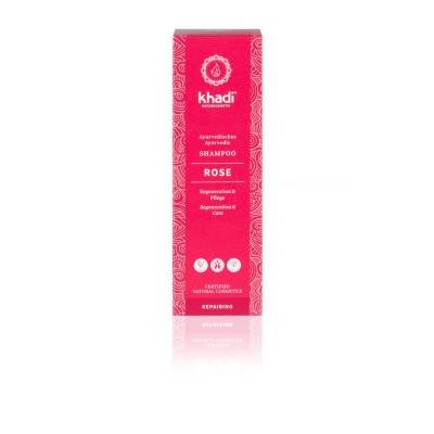 Khadi Shampoo rose hair repair
