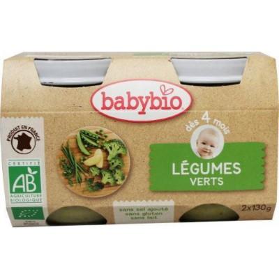 Babybio Groenten groene groente 130 gram