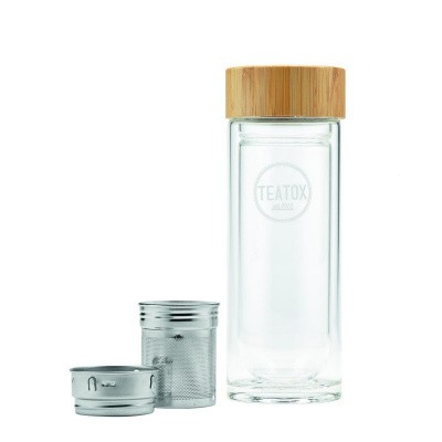 Teatox Bio Thee Thermo bamboo to go bottle