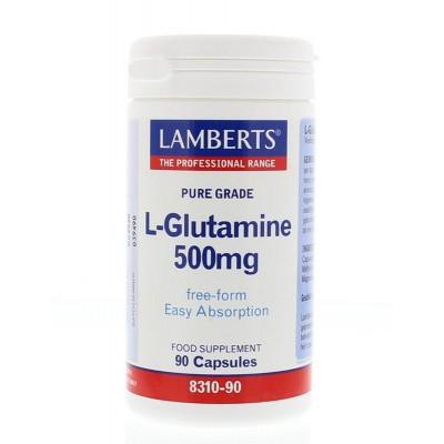 Lamberts L-Glutamine 500 mg