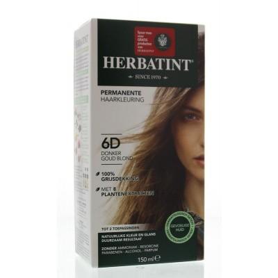 Herbatint 6D Dark gold blonde