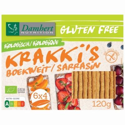 Damhert Boekweit krakki s glutenvrij