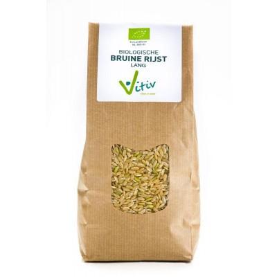 Vitiv Rijst bruin lang