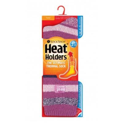 Heat Holders Fashion twist 4-8 appleby pink strips twist