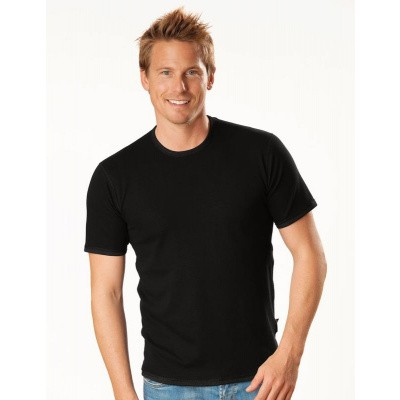 Best4body Verbandshirt zwart korte mouw M
