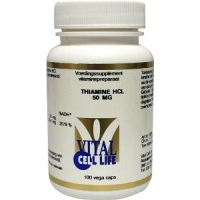 Vital Cell Life Thiamine HCL 50 mg