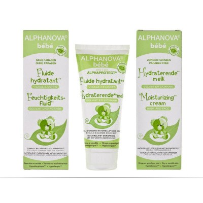 Alphanova Baby Moisturizing cream mild dryness bio