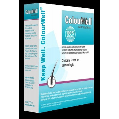 Colourwell 100% Natuurlijke hair treatment