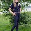 Foto van Kingsland Junior Set Meisjes Rijlegging + Polo Blauw Koraal