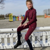Foto van Kingsland Set: Rijlegging + Trainingsshirt Red Port Royal