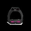Foto van Flex-On stijgbeugels, Safe On Junior, Zwart - pink, griptreat