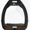 Foto van Flex-On stijgbeugels, Safe On, Zwart- bruin, ultragrip