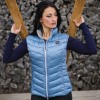 Foto van Flags and Cup Henna Dames Bodywarmer Blauw