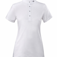 Eqode By Equiline Donna Dames Showshirt Wit