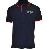 Flags and Cup Capto Heren Polo Blauw