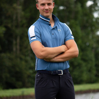 Foto van Kingsland Ugo Heren Polo Blauw Moonlight