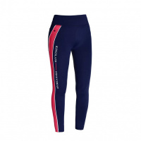 Foto van Kingsland Karina Dames Rijlegging Full Grip Blauw/Red Geranium