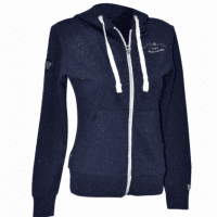 Flags And Cup Sweat Ona Dames Hoodie, Blauw