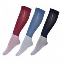 Foto van Kingsland Basil Unisex Show Socks 3-pack (bordeaux/zwart/blauw ombre)
