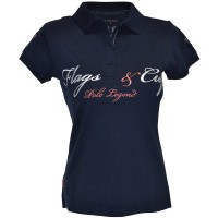 Foto van Flags and Cup Cordova Dames Polo Blauw