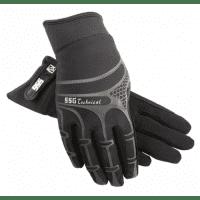 SSG Gloves, Rijhandschoenen Technical Style 8500, Zwart