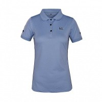 Foto van Kingsland Uma Dames Polo Blauw Kentucky