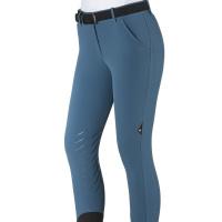 Equiline Chellec Dames Rijbroek Knee Grip Seaport Blue