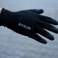 Kingsland Savoonga Winter Werk Handschoenen Unisex, Zwart