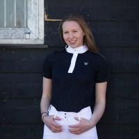 Foto van Kingsland Florrie Show Shirt Dames, Blauw