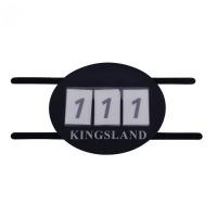 Kingsland Shelby Nummerplaat Blauw