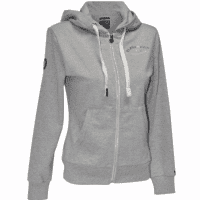 Flags And Cup Sweat Ona Dames Hoodie, Licht Grijs
