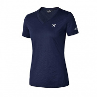 Kingsland Aviva Dames Trainingsshirt Blauw