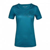 Foto van Kingsland Janisi Dames Trainingsshirt Blue Deep Lagoon