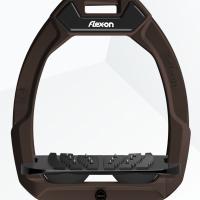 Flex-On stijgbeugels, Safe On, Bruin - zwart, Griptreat