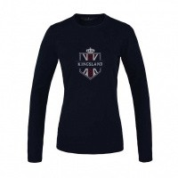 Foto van Kingsland Anatoli Knitted Sweater Dames, Blauw