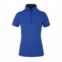 Kingsland Agape Dames Polo, Blauw Lalique