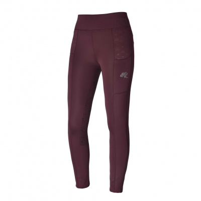 Foto van Kingsland Kattie Dames Rijlegging Full Grip Red Port Royal
