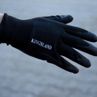 Foto van Kingsland Abbe Werk Handschoenen Unisex, Zwart