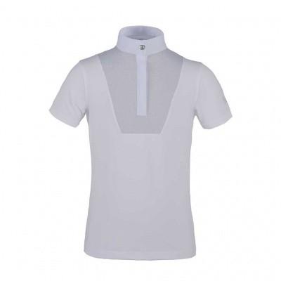 Foto van Kingsland Demi Meisjes Wedstrijd Shirt, Wit