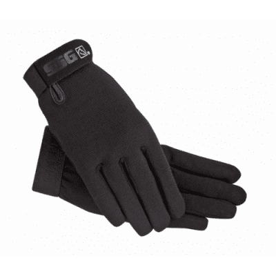 Foto van SSG Gloves, Rijhandschoenen All Weather Style 8600, Zwart