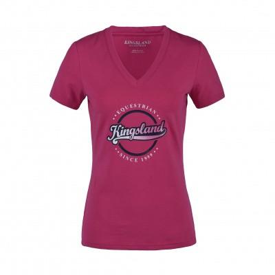 Foto van Kingsland Tonia Dames T-shirt Roze